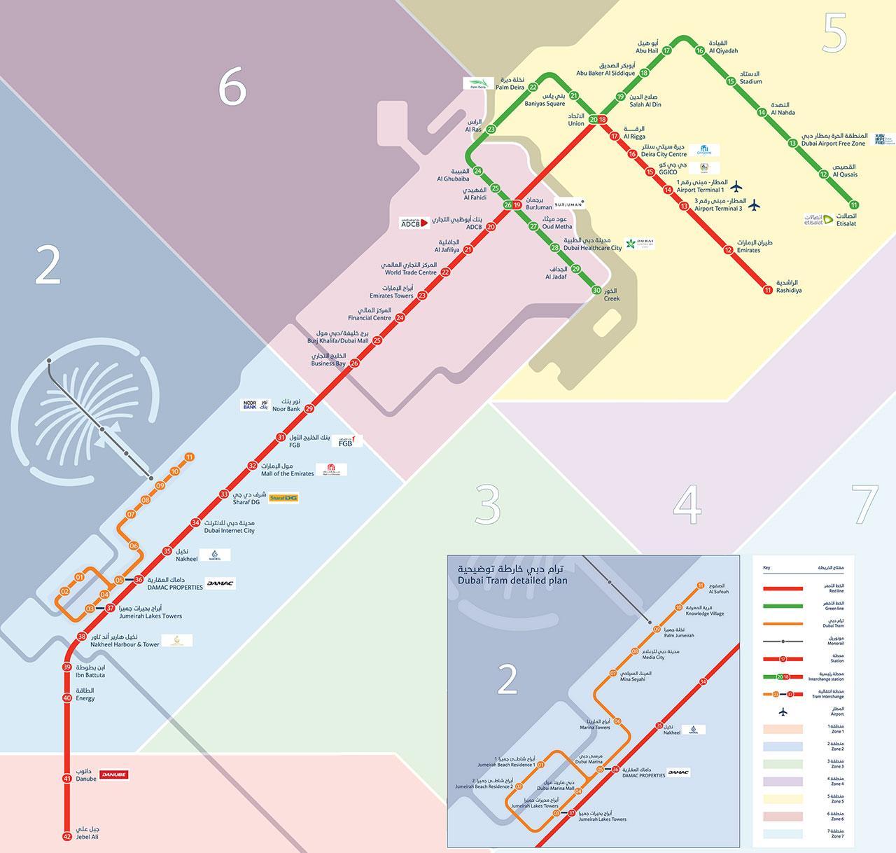 Dubai Subway Map.Dubai Subway Map Subway Map Dubai United Arab Emirates